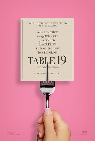 Table 19 (2017) Main Poster