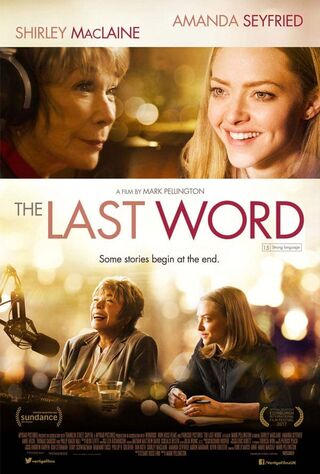 The Last Word (2017) Main Poster