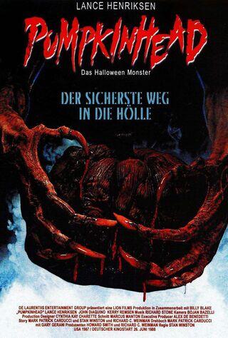 Pumpkinhead (1989) Main Poster