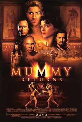 The Mummy Returns (2001) Main Poster