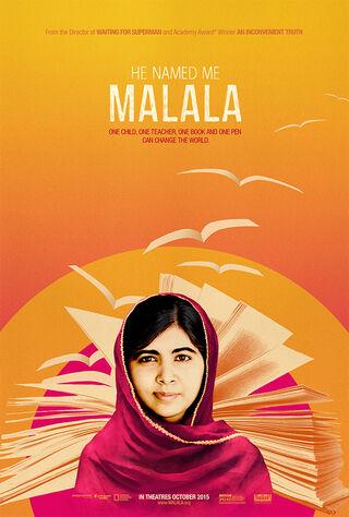 He Named Me Malala (2015) Main Poster