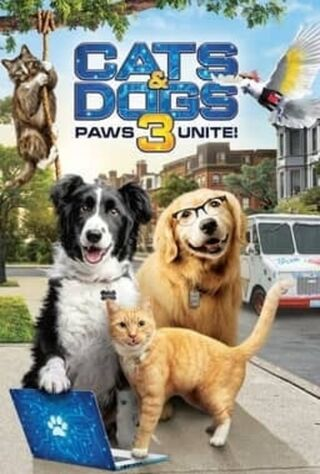 Cats & Dogs 3: Paws Unite (2020) Main Poster