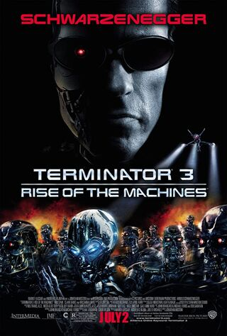 Terminator 3: Rise of the Machines (2003) Main Poster