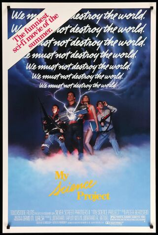My Science Project (1985) Main Poster