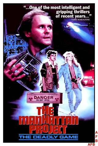 The Manhattan Project (1986) Main Poster