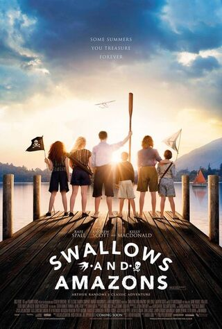 Swallows And Amazons (2017) Main Poster