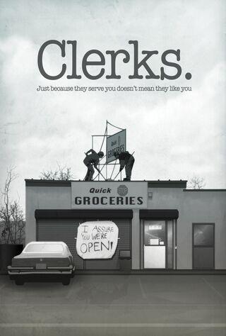 Clerks (1994) Main Poster