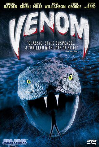 Venom (1982) Main Poster