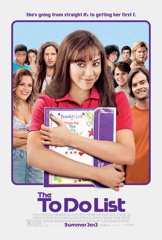 The To Do List (2013) Main Poster