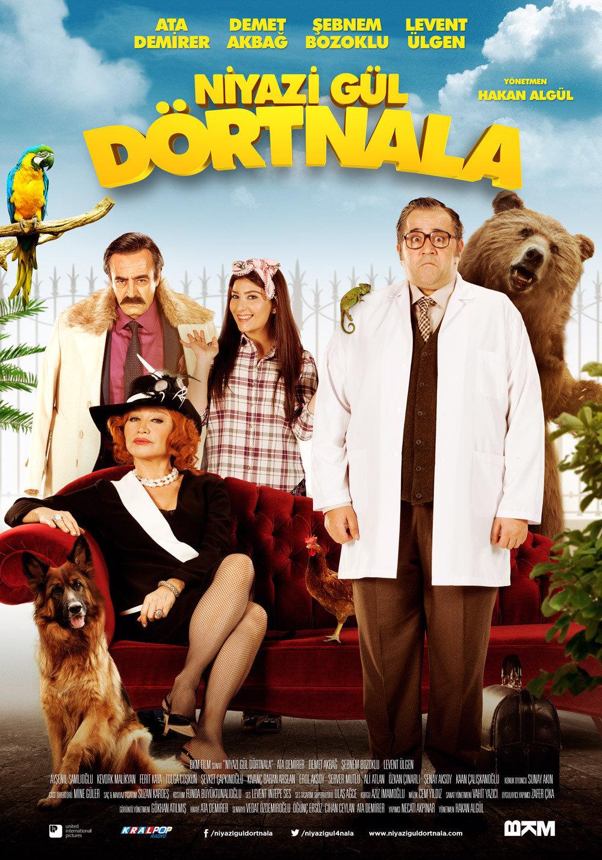 Niyazi Gül Dörtnala (2015) Main Poster