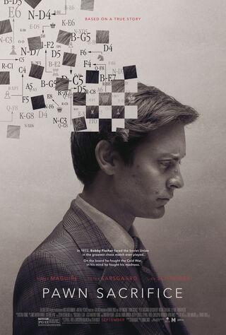 Pawn Sacrifice (2015) Main Poster