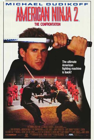 American Ninja 2: The Confrontation (1987) Main Poster