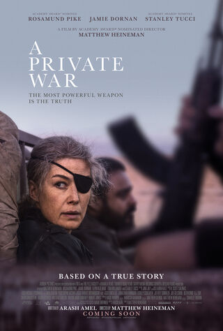 A Private War (2018) Main Poster