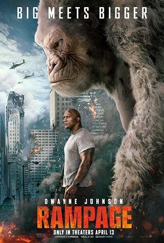 Rampage (2018) Main Poster