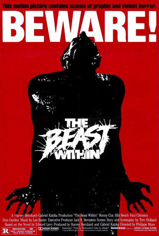 The Beast Within (1982) Main Poster