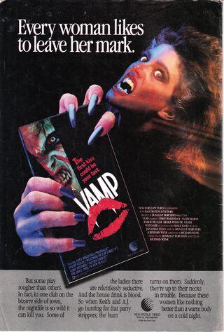 Vamp (1986) Main Poster