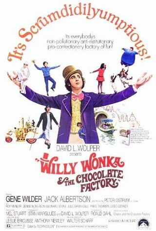Willy Wonka & The Chocolate Factory (1971) Main Poster