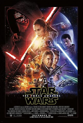 Star Wars Episode VII : The Force Awakens (2015) Main Poster