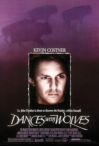 Dances with Wolves (1990) Main Poster