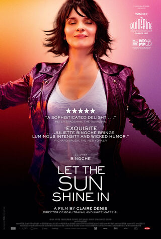 Let The Sunshine In (2017) Main Poster