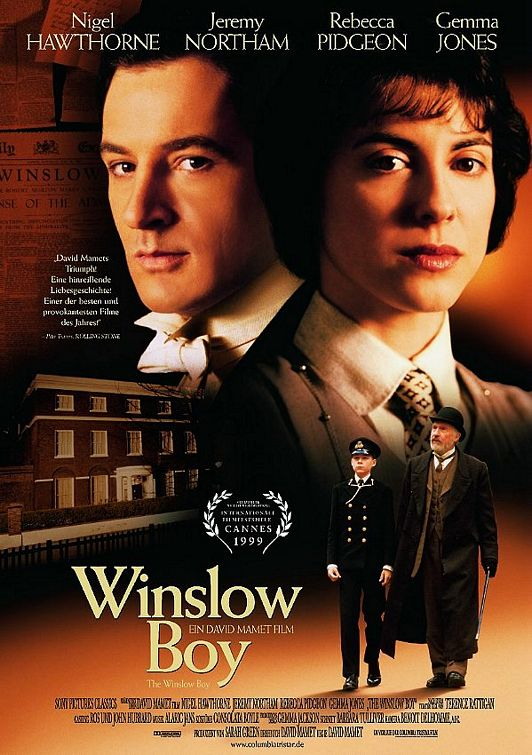 The Winslow Boy (1999) Main Poster