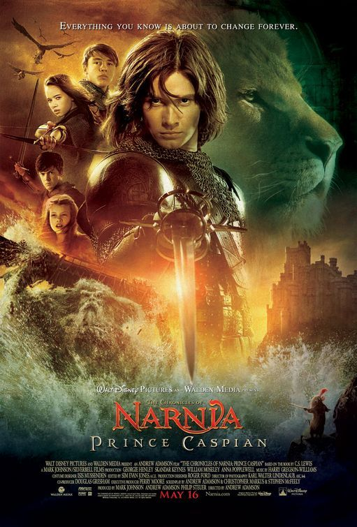 The Chronicles of Narnia: Prince Caspian (2008) Poster #1