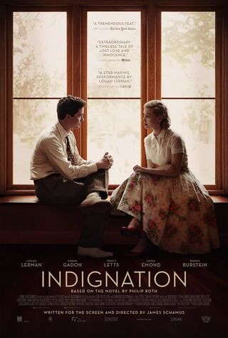Indignation (2016) Main Poster