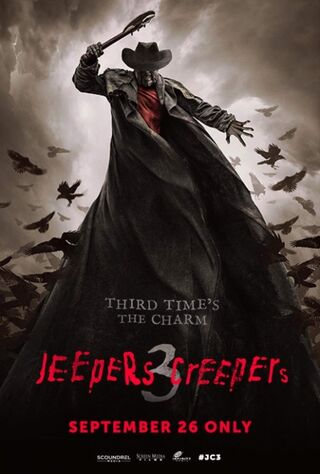Jeepers Creepers III (2017) Main Poster