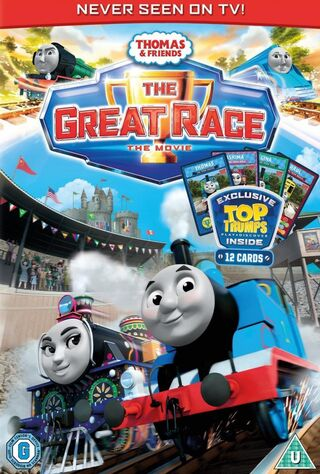 Thomas & Friends: The Great Race (2016) Main Poster