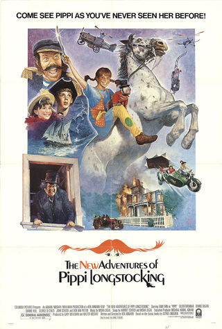 The New Adventures Of Pippi Longstocking (1988) Main Poster
