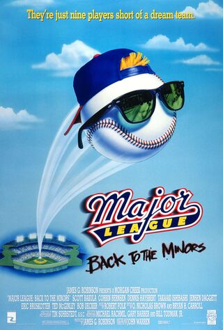 Major League: Back To The Minors (1998) Main Poster