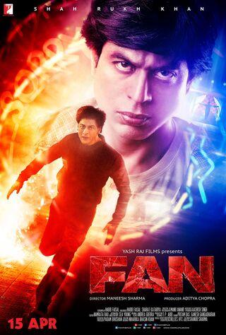 Fan (2016) Main Poster