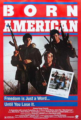 Born American (1986) Main Poster