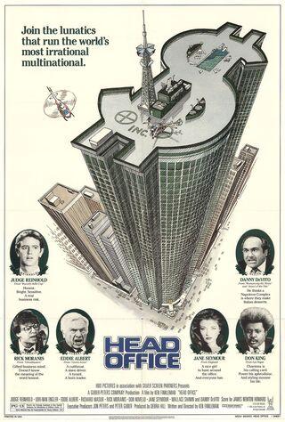 Head Office (1986) Main Poster