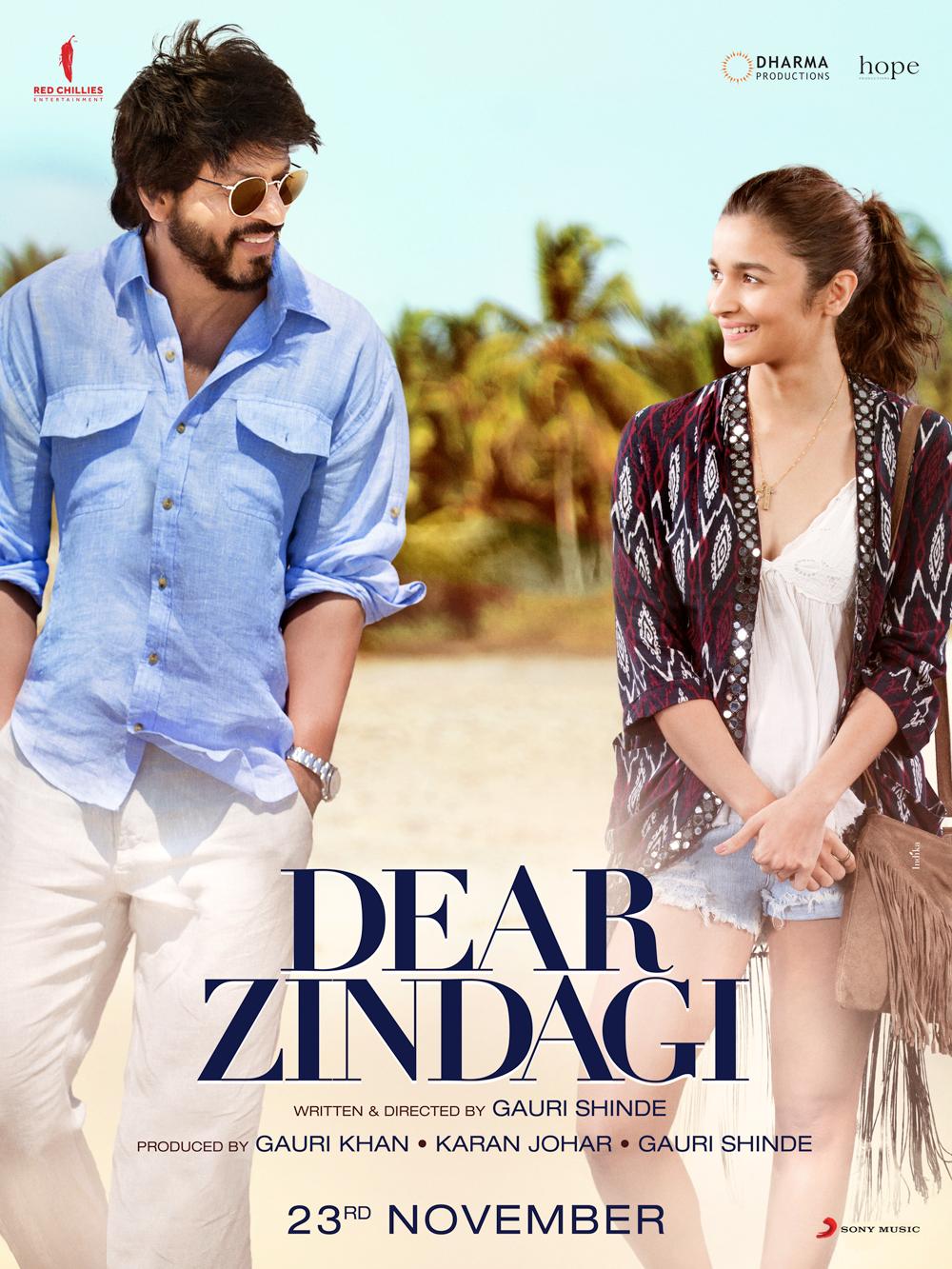 Dear Zindagi (2016) Main Poster