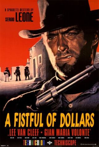 A Fistful Of Dollars (1967) Main Poster