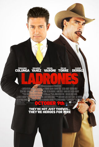 Ladrones (2015) Main Poster