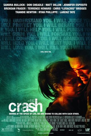 Crash (1997) Main Poster