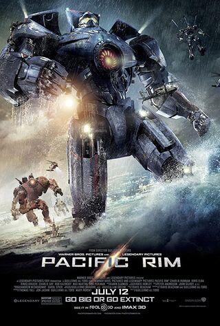 Pacific Rim (2013) Main Poster