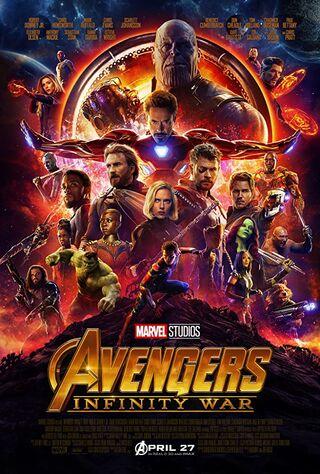 Avengers : Infinity War (2018) Main Poster