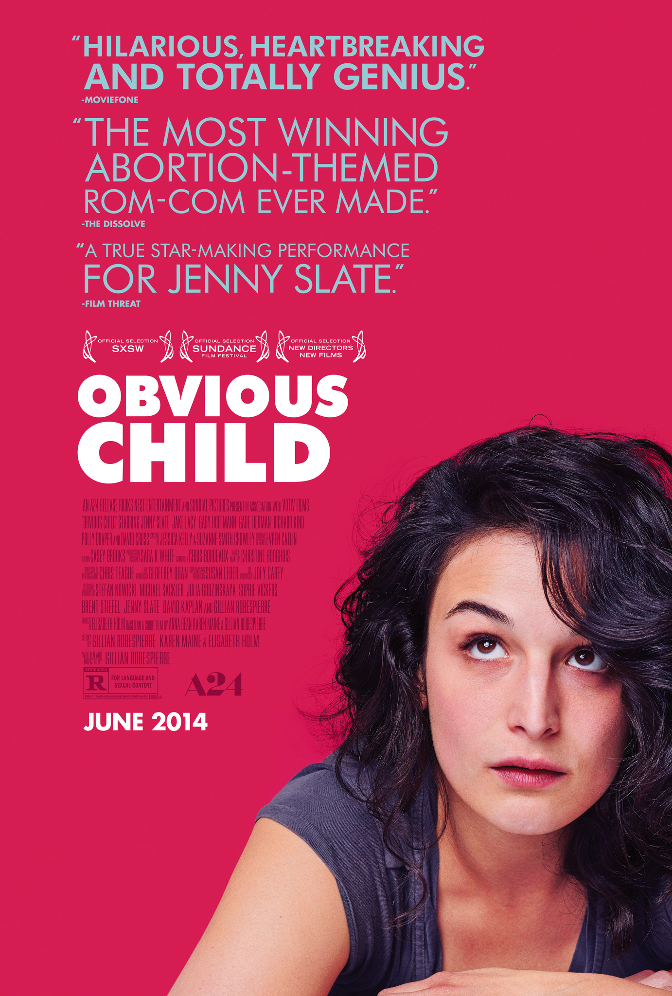 Obvious Child (2014) Main Poster