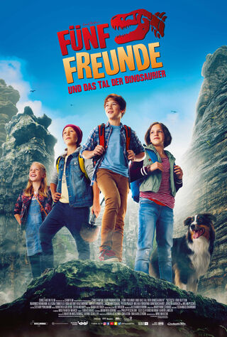 The Famous Five And The Valley Of Dinosaurs (2018) Main Poster
