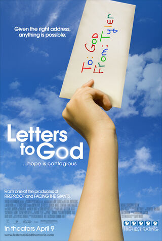 Letters To God (2010) Main Poster