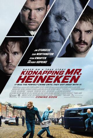 Kidnapping Mr. Heineken (2015) Main Poster