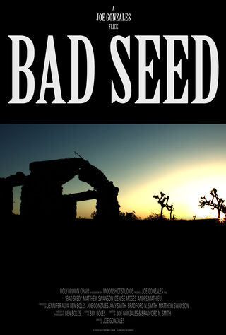 Bad Seeds (2018) Main Poster