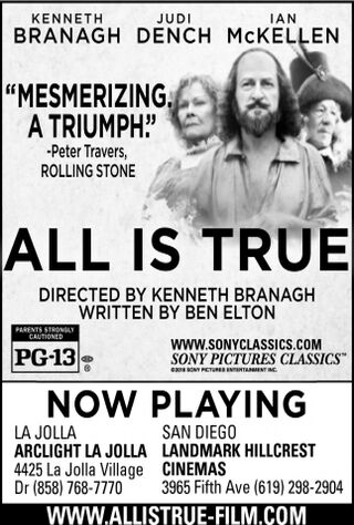 All Is True (2019) Main Poster