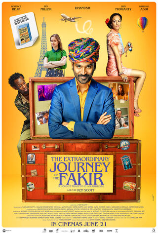 The Extraordinary Journey Of The Fakir (2019) Main Poster