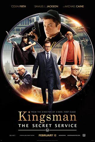 Kingsman: The Secret Service (2015) Main Poster