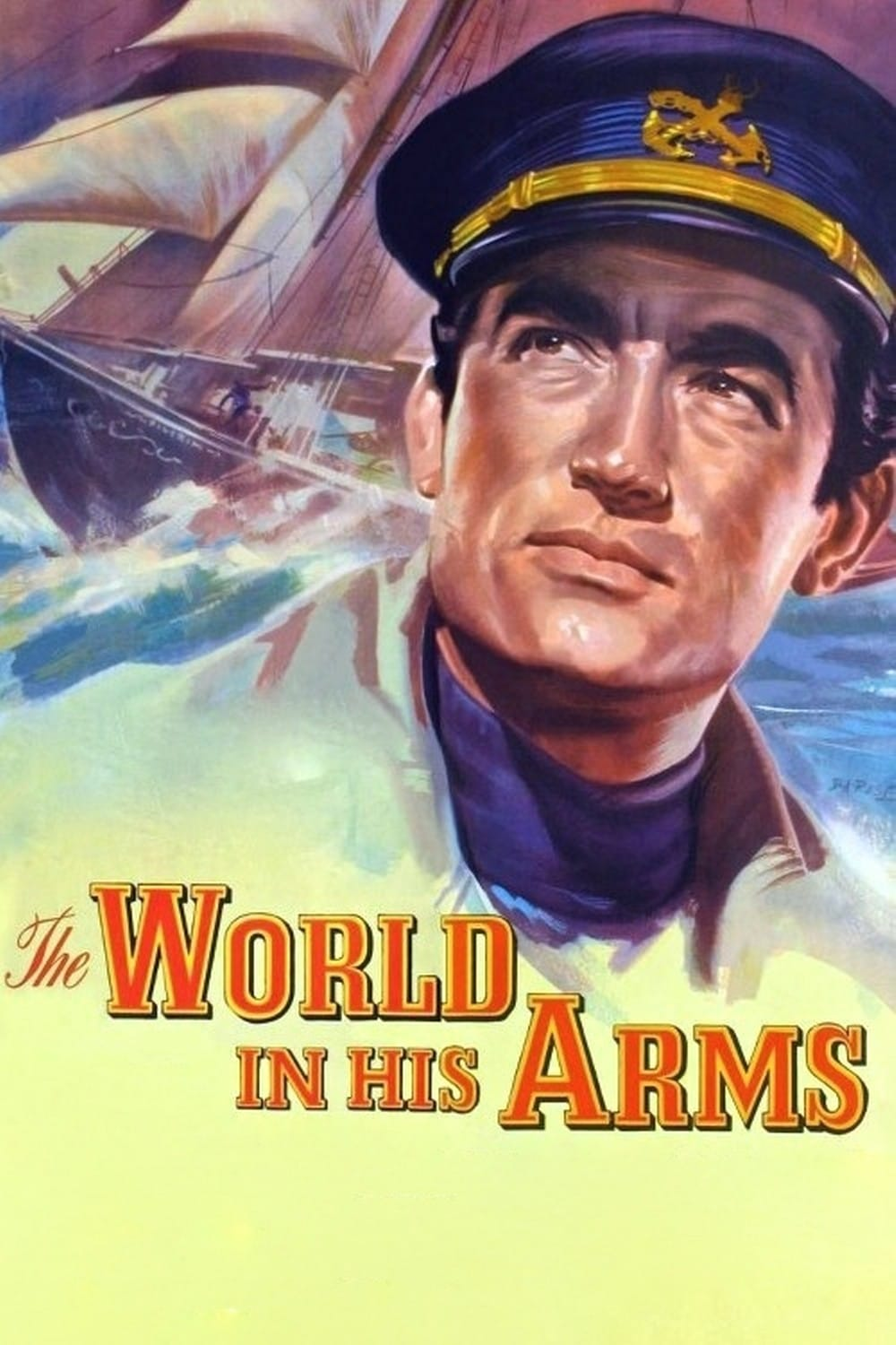 The World In His Arms (1952) Main Poster