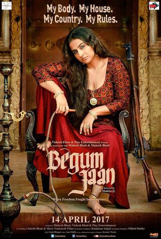 Begum Jaan (2017) Main Poster